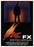 F/X - Spanish Movie Poster (xs thumbnail)
