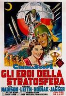 On the Threshold of Space - Italian Movie Poster (xs thumbnail)