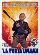 White Heat - Italian Movie Poster (xs thumbnail)