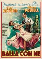 Broadway Melody of 1940 - Italian Movie Poster (xs thumbnail)