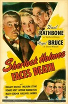 Sherlock Holmes Faces Death - Movie Poster (xs thumbnail)