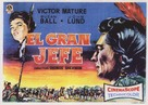 Chief Crazy Horse - Spanish Movie Poster (xs thumbnail)