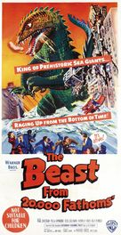 The Beast from 20,000 Fathoms - Australian Movie Poster (xs thumbnail)