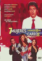 7 mujeres, 1 homosexual y Carlos - Mexican Movie Cover (xs thumbnail)