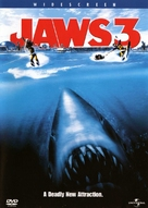 Jaws 3D - DVD cover (xs thumbnail)