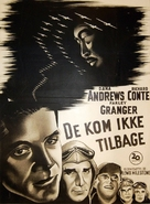 The Purple Heart - Danish Movie Poster (xs thumbnail)