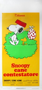 Snoopy Come Home - Italian Movie Poster (xs thumbnail)