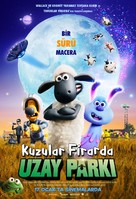 A Shaun the Sheep Movie: Farmageddon - Turkish Movie Poster (xs thumbnail)