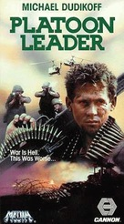 Platoon Leader - VHS movie cover (xs thumbnail)