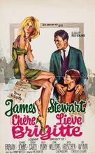 Dear Brigitte - Belgian Movie Poster (xs thumbnail)