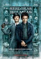 Sherlock Holmes - Lithuanian Movie Poster (xs thumbnail)