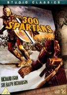The 300 Spartans - British DVD cover (xs thumbnail)