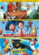 Cloudy with a Chance of Meatballs - British DVD movie cover (xs thumbnail)