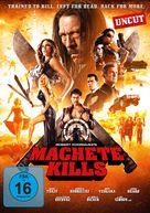 Machete Kills - German DVD movie cover (xs thumbnail)