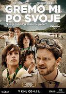 Gremo mi po svoje - Slovenian Movie Poster (xs thumbnail)