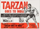 Tarzan Goes to India - Movie Poster (xs thumbnail)