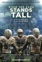 When the Game Stands Tall - Movie Poster (xs thumbnail)