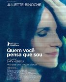 Celle que vous croyez - Brazilian Movie Poster (xs thumbnail)