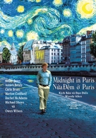 Midnight in Paris - Vietnamese Movie Poster (xs thumbnail)