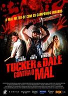 Tucker and Dale vs Evil - Portuguese Movie Poster (xs thumbnail)