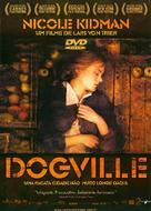 Dogville - Brazilian DVD cover (xs thumbnail)