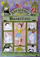 Priklyucheniya Buratino - German Movie Poster (xs thumbnail)