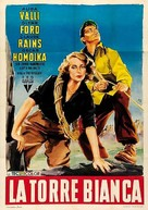 The White Tower - Italian Movie Poster (xs thumbnail)