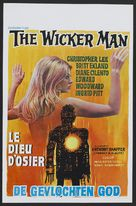 The Wicker Man - Belgian Movie Poster (xs thumbnail)