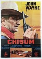 Chisum - Italian Movie Poster (xs thumbnail)