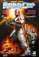 RoboCop - Turkish Movie Poster (xs thumbnail)