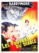 The Devil-Doll - French Movie Poster (xs thumbnail)