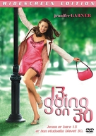 13 Going On 30 - Danish DVD movie cover (xs thumbnail)