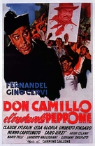 Don Camillo e l'onorevole Peppone - Italian Movie Poster (xs thumbnail)