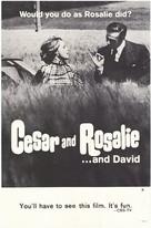 César et Rosalie - Movie Poster (xs thumbnail)