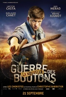 La nouvelle guerre des boutons - French Movie Poster (xs thumbnail)