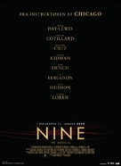 Nine - Danish Movie Poster (xs thumbnail)