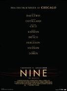 Nine - Danish Movie Poster (xs thumbnail)