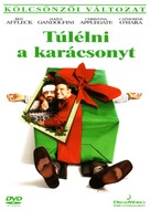 Surviving Christmas - Hungarian DVD cover (xs thumbnail)