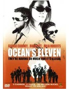 Ocean's Eleven - DVD cover (xs thumbnail)