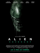 Alien: Covenant - French Movie Poster (xs thumbnail)