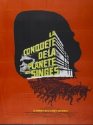 Conquest of the Planet of the Apes - French Movie Poster (xs thumbnail)