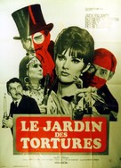 Torture Garden - French Movie Poster (xs thumbnail)
