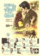 Hemingway's Adventures of a Young Man - Spanish Movie Poster (xs thumbnail)