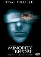 Minority Report - French Movie Cover (xs thumbnail)