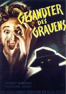 Not of This Earth - German Movie Poster (xs thumbnail)