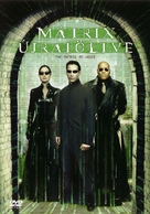 The Matrix Reloaded - Hungarian DVD movie cover (xs thumbnail)