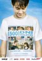 (500) Days of Summer - Polish Movie Poster (xs thumbnail)