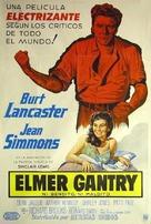 Elmer Gantry - Argentinian Movie Poster (xs thumbnail)