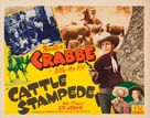 Cattle Stampede - Movie Poster (xs thumbnail)