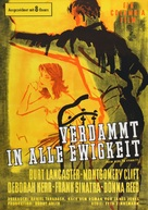 From Here to Eternity - German Movie Poster (xs thumbnail)